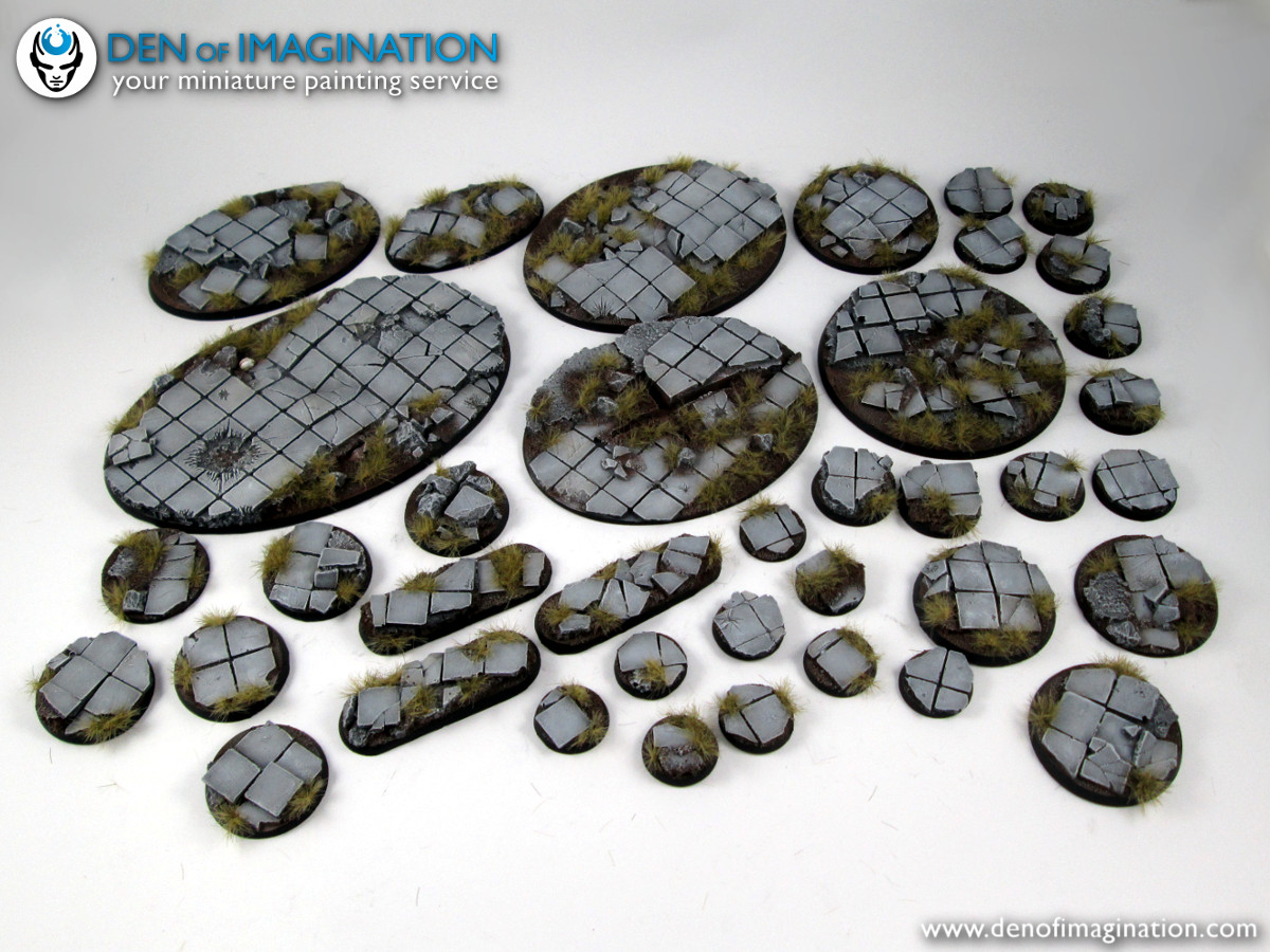 Painting rocks step by step | tutorials | tiny worlds wargaming blog.