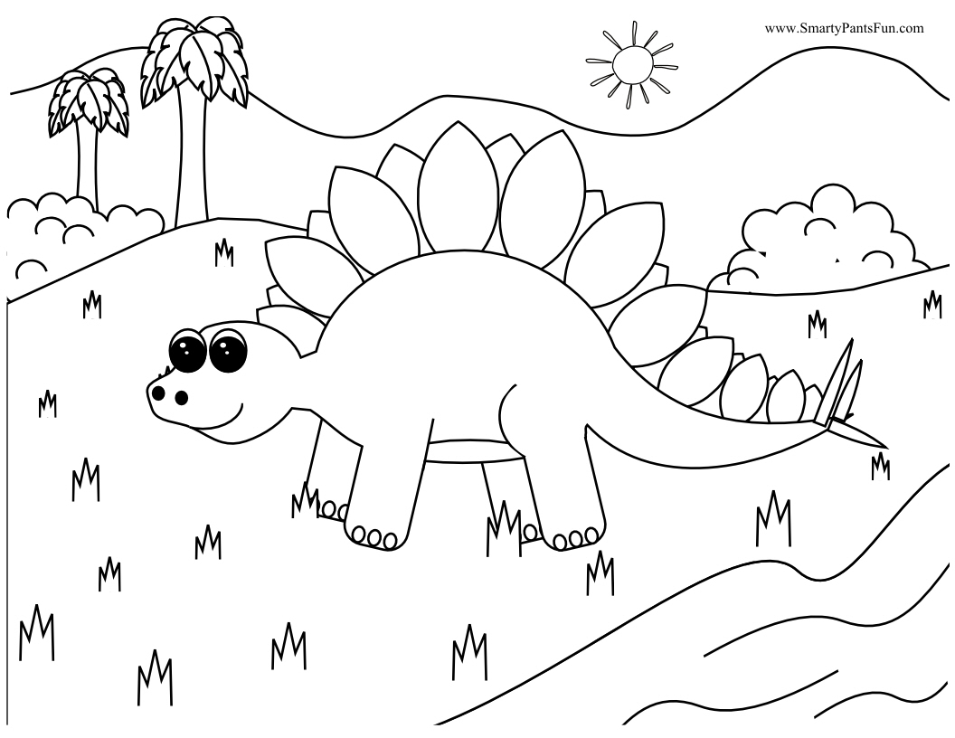 Free coloring pages for dinosaurs - Free Coloring Pages With Dinosaurs Printable Coloring Pages Dinosaurs 56
