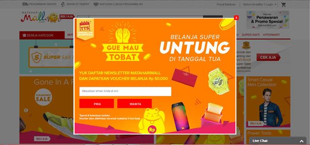 www.mataharimall.com