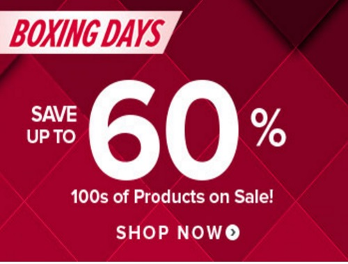 Well.ca Boxing Day Up To 60% Off + $10 Off Exclusive Promo Code