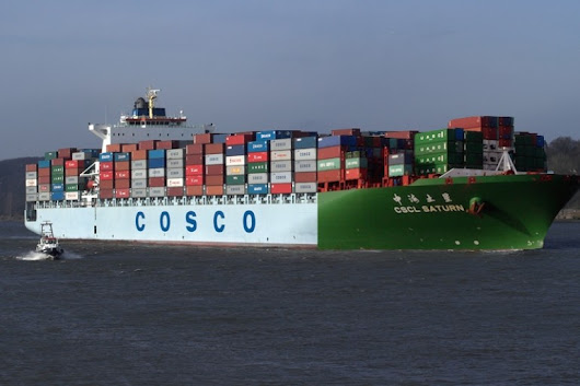 World's largest shipping line unveiled in Shanghai