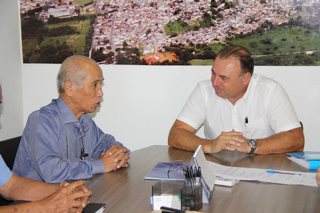 Prefeito Gilson Fantin inicia projeto de construção do Memorial da Imigração Japonesa