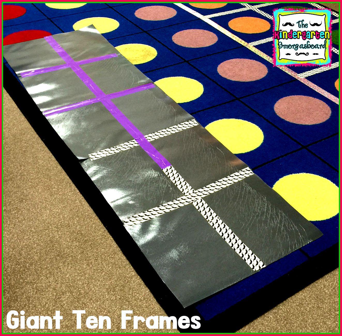The Kindergarten Smorgasboard A Kindergarten Smorgasboard Of Counting With Ten Frames