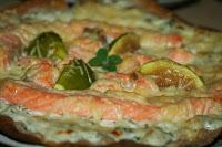 http://godtsuntogbillig.blogspot.fr/2013/10/pizza-urtesaus-laks-oppskrift-italiensk.html