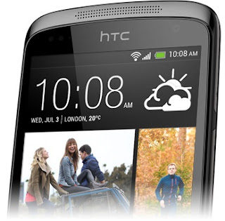 HTC Desire 500 Android Jelly Bean Quad Core Layar 4.3 inch