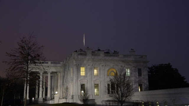The White House is seen early morning in Washington, DC, USA. EPA, OLIVIER DOULIERY, POOL