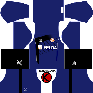 Felda United Kits 2016 -  Dream League Soccer 2016 and FTS15