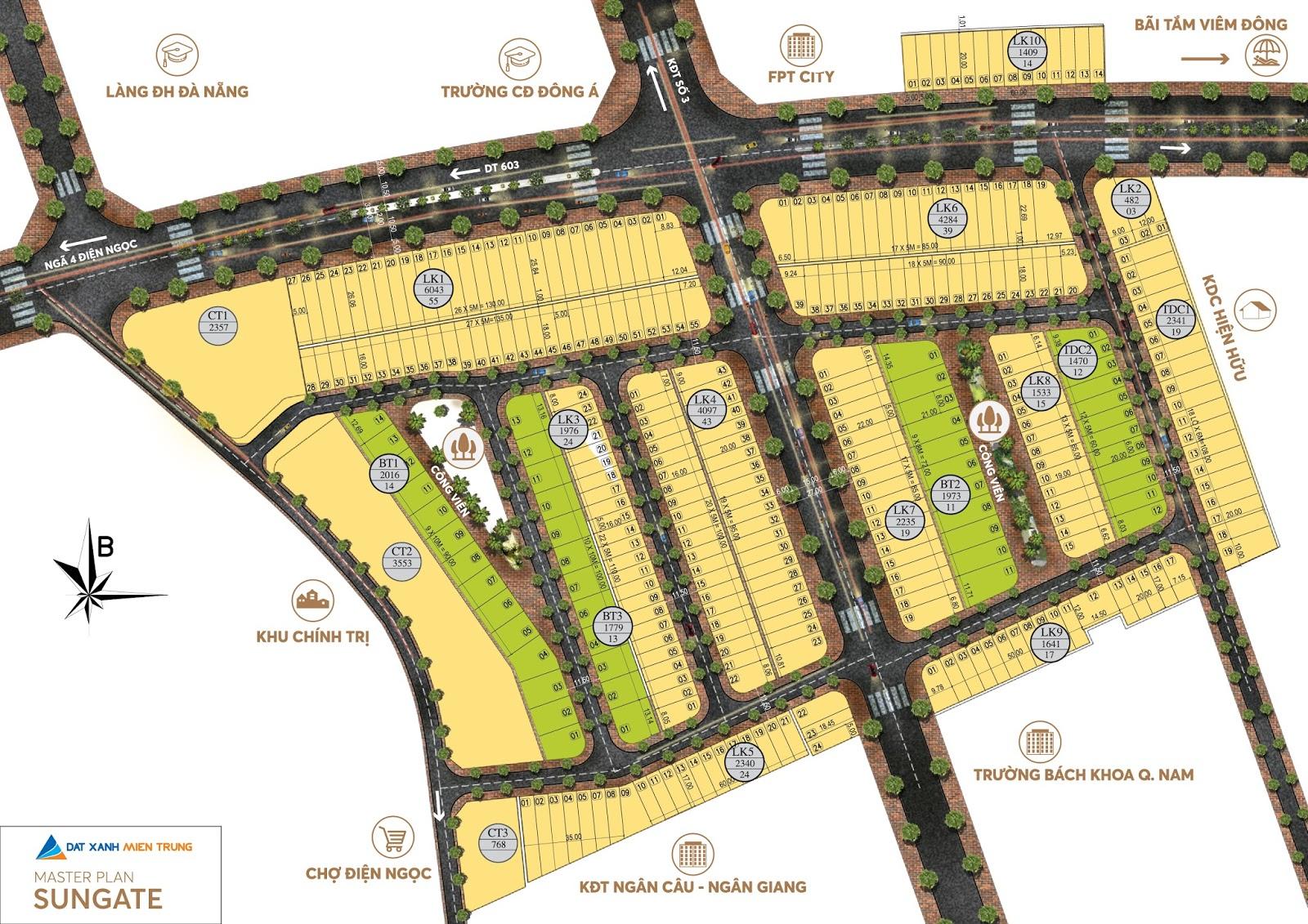Kết quả hình ảnh cho phói cảnh dự án sungate city