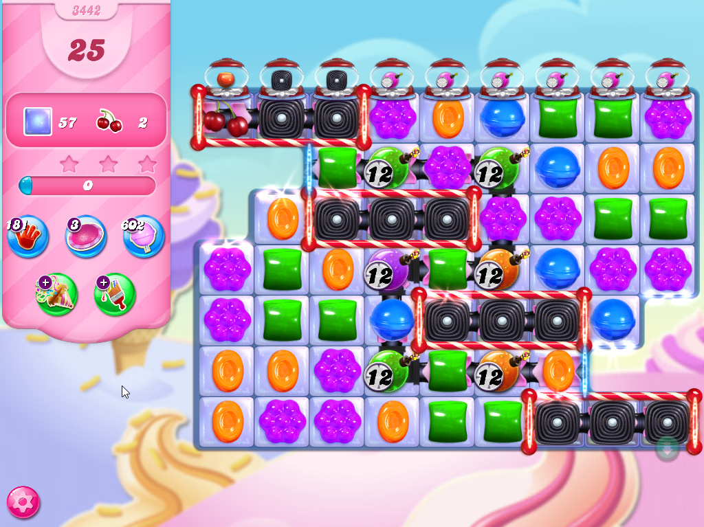 Candy Crush Saga level 3442