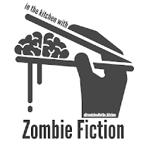 in the kitchen with zombie fiction logo