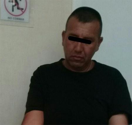 Juan Carlos esta vez no pudo escapar de la policía; asaltaba personas a mano armada