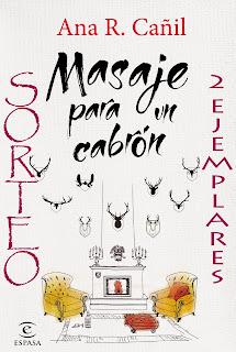 """Sorteo 2 ejemplares """"Masaje para un cabrón"""""""
