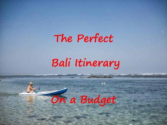 Bali Itinerary on a Budget