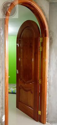 Puertas de madera en San Borja