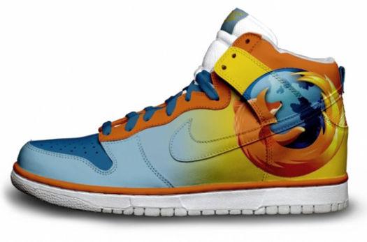 3fba44b3243c Nike Dunks Custom Design Sneakers   Firefox Shoes Browser Nike SB ...