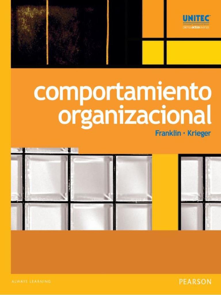 comportamiento organizacional franklin krieger pdf gratis