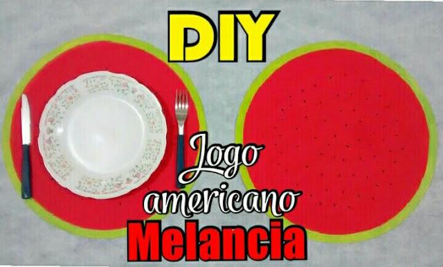 diy melancia