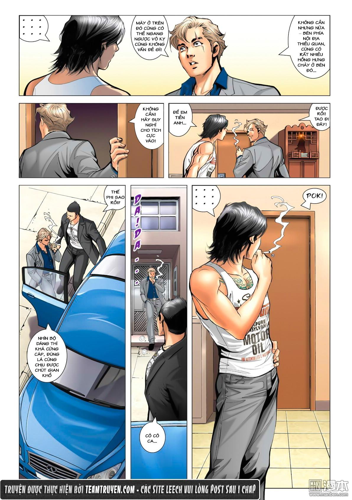 Người Trong Giang Hồ NetTruyen chap 1533 - Trang 18