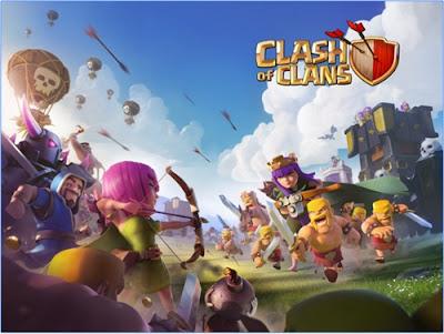 game online seru clash of clans