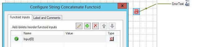 configure concatenate functoid