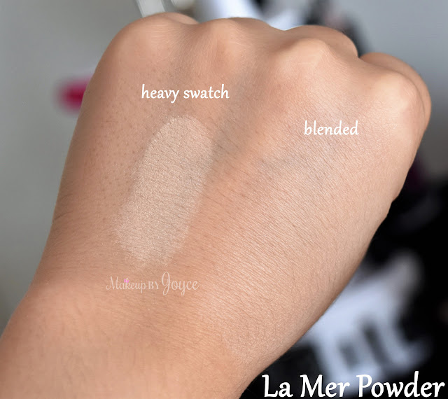 La Mer The Powder 05 Translucent Luminous Swatch