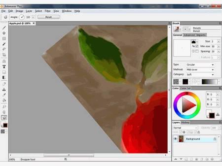 Artweaver Free: programma  di elaborazione foto e immagini.