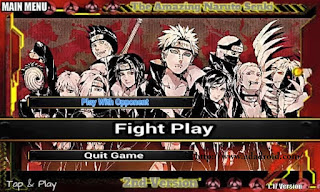 The Amazing Naruto Senki 2nd Version Apk