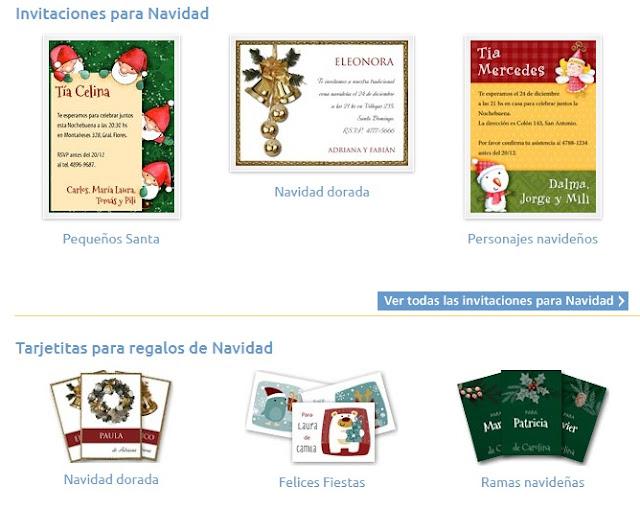 Bonitas tarjetas de navidad para imprimir gratis