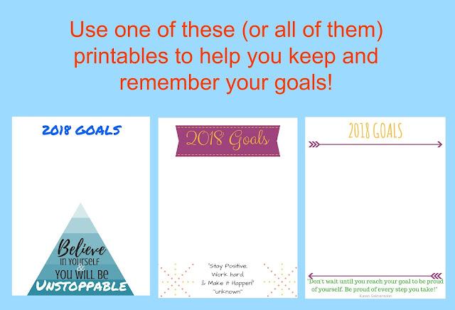 Goal Printable