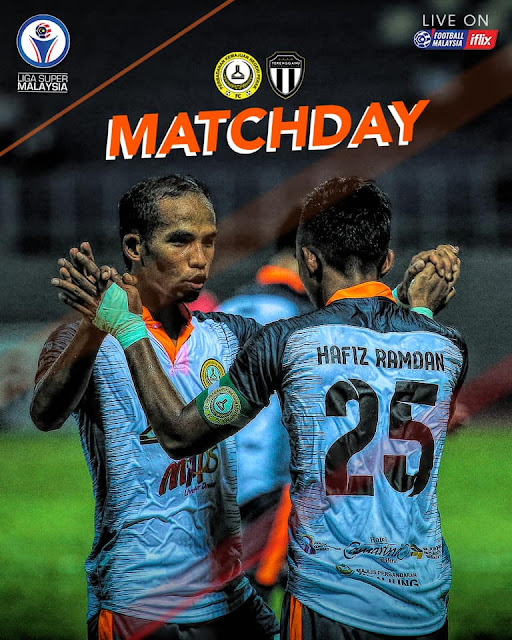 Live Streaming Pknp vs Terengganu Liga Super 4.5.2019