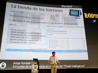 RootedCon 2016 - Jorge Hurtado y uno de los bugs encontrados