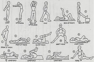 Gerakan Peninggi Badan Sebelum Tidur Beserta Gambar