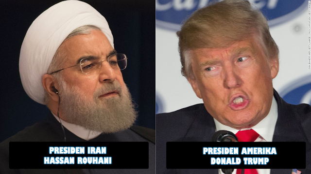 Hassan Rouhani Donal Trump
