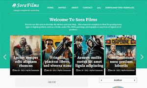 Sora Films Blogger Template