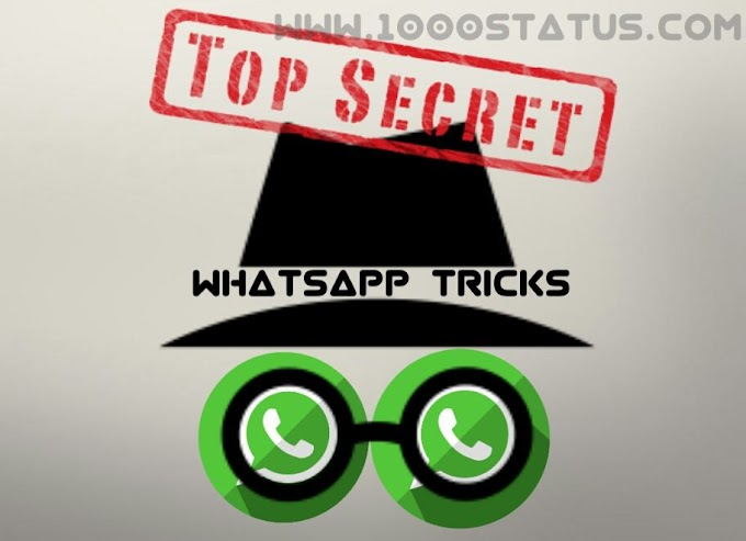 26 Whatsapp Tricks you don't know about (2018)