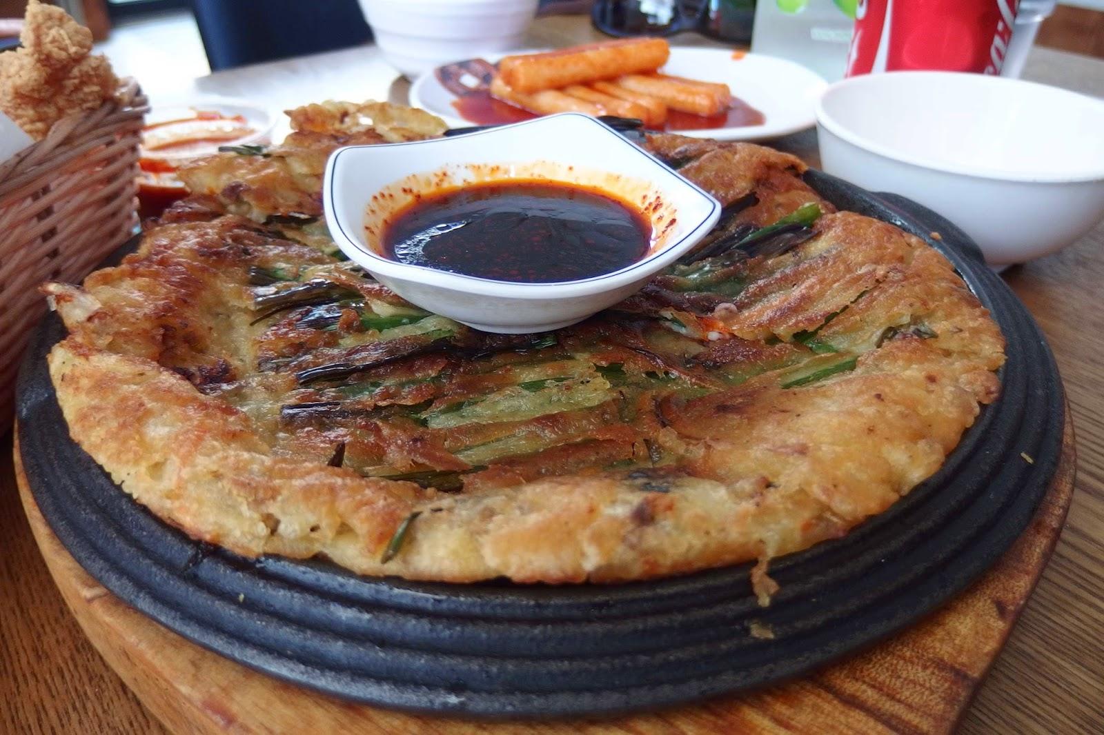 Kimchi pancake image