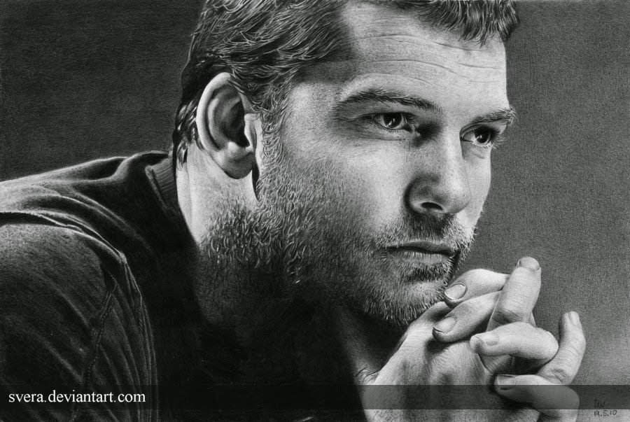 14-Sam-Worthington-Daniela-Wolf-Svera-Photo-Realistic-Film-&-TV-Series-Drawings-www-designstack-co