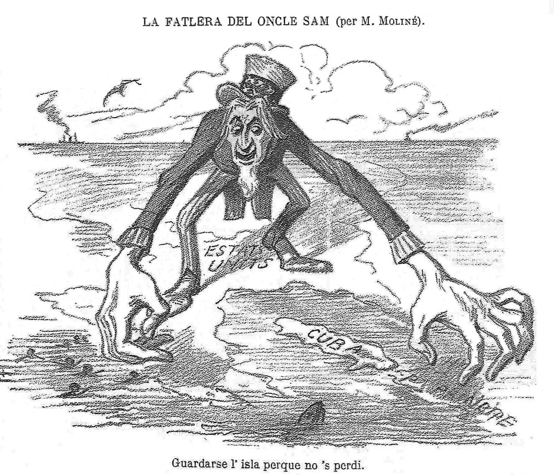 Emily Anasagasti's American Imperialism Political Cartoons