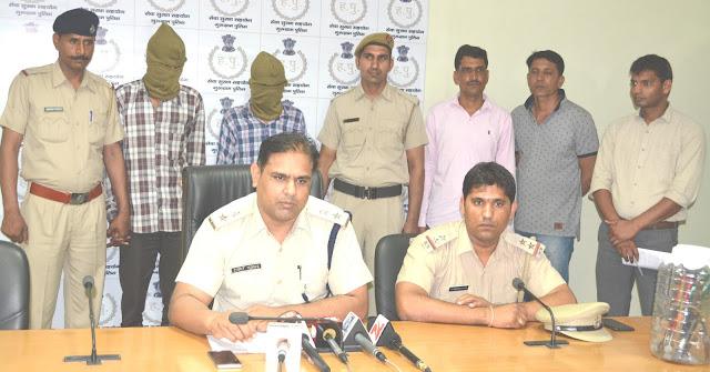 gurugram-police-caught-badmash-today