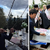Μόνος από τους πολιτικούς Αρχηγούς στην Κηδεία του Εθνομάρτυρα ο Ευρωβουλευτής ΣΥΝΑΔΙΝΟΣ