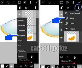 Edit foto picsart unik