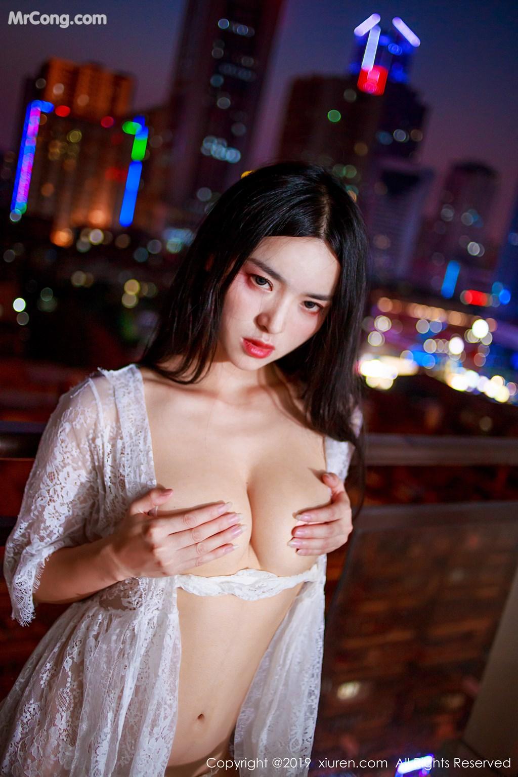 Image XIUREN-No.1715-Jin-Jing-Xi-MrCong.com-009 in post XIUREN No.1715: Jin Jing Xi (金静熙) (51 ảnh)