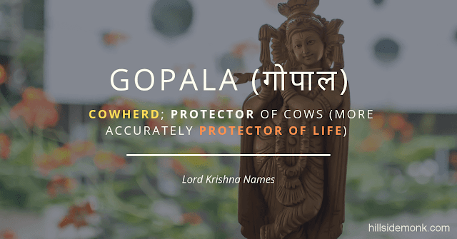 Lord Krishna Names With Meaning 16