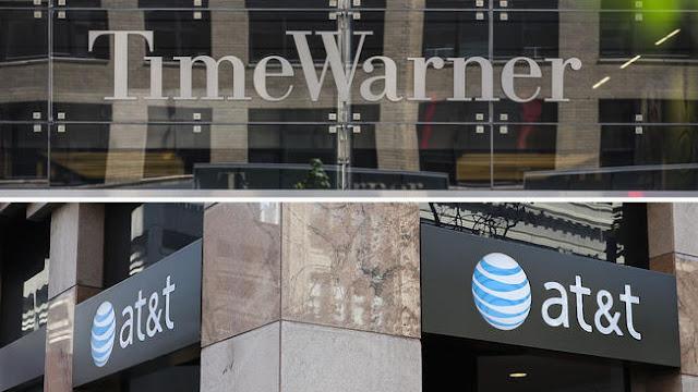 AT&T compra Time Warner por 80 bilhoes de dolares