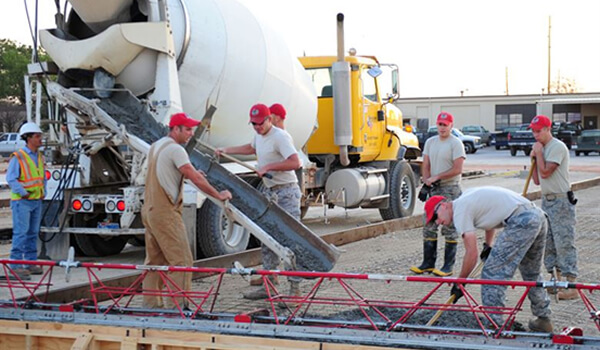 Ready-Mix Concrete, Construction Project | PintFeed