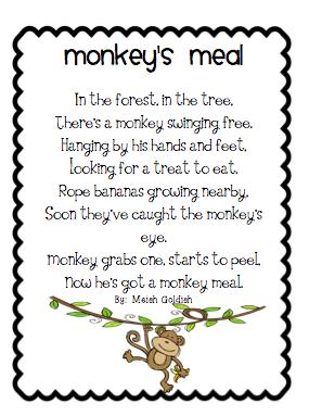 I am a monkey book