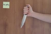 Allenamento lotta col coltello