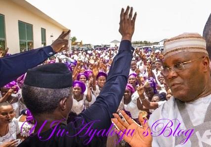 2019: North JITTERY Over Osinbajo Soaring Popularity; Atiku Panics Too, Renews Acrimony With Tinubu As Buhari's Health Poses More Threat