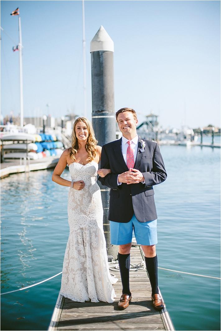 Balboa Yacht Club Wedding Southern California Wedding
