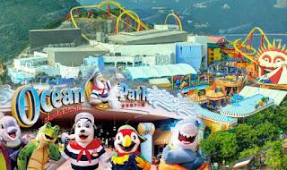 Destinasi Wisata Ocean Park Hong Kong Destinasi Wisata